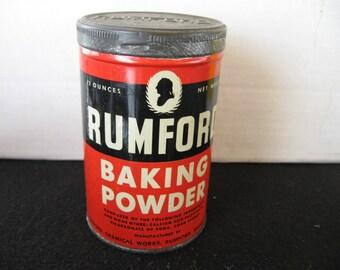 Rumford Baking Powder Tin Bank