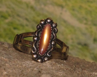 Sterling silver carnelian agate ladies / womens ring