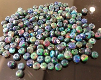 AAA natural black opal beads size 2.8-3mm  please choose your option