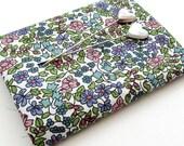 Emilia's Flowers (lilac/green) - Liberty Mini Single (9x12)