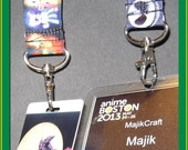 Badge lanyard - lanyards for conventions, conferences, festivals, or just to brighten up your work day!