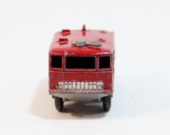 Crash Tender Matchbox Lesney 63 Foamite No Vintage Fire Airport Truck England Vtg Series Box Original Car Diecast