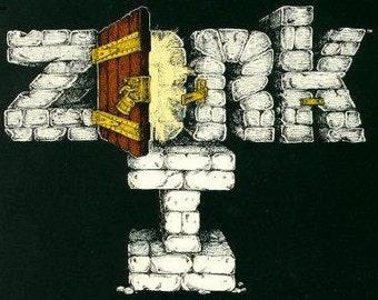 Cross-stitch- Pattern only- Zork video game, classic video game, classic cross stitch, nerd cross stitch, geek cross stitch, pattern