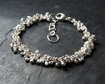 Sterling Silver Vine Bracelet