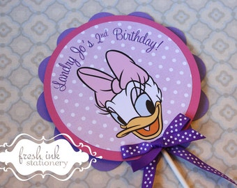 Daisy Duck Centerpiece or Cake Top