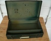 Vintage Metal First Aid Box