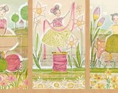 "NEW - Blend Fabrics - The Makers - Happy Beginnings 24"" x 44"" Panel - PANEL Fabric by Cori Dantini"
