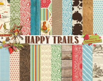 Happy Trails Paper Set