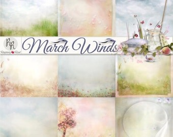 March Winds Paper Set