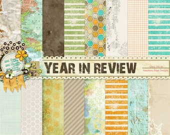 Year In Review Paper Set