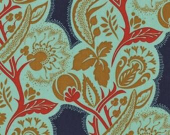 Dowry - Flourish in Jester - PWAH066.JESTE - Anna Maria Horner for Free Spirit - 1/2 Yard