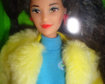 "Barbie ""Kira"" United Colors of Benetton sealed in box 1990"
