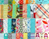 "Scrappy Charm Pack: 42 x 5"" squares"