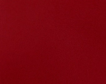 100% Wool Felt Sheet - 8x12 - BRICK RED