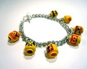 Pirate Lego head Bracelet