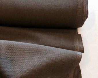 "Medium brown wool blend suiting fabric 65-35 wool/polyester 58"" wide sold by the yard"