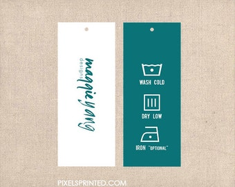 """2"""" x 5"""" tags and favor tags - FREE custom design - FREE UPS ground shipping"""