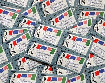 50 pieces - 1966 5 cent SIPEX (Sixth International Philatelic Exhibition) - Vintage unused stamps - great for wedding stationery, crafts