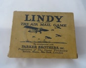 1927 LINDY The Air Mail Game Parker Brothers, Inc.