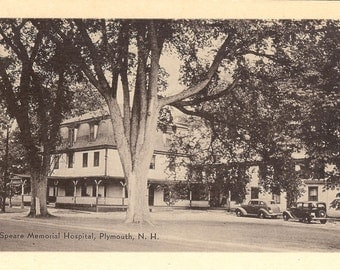 Vintage Postcard.....Sceva Speare Memorial Hospital, Plymouth, New Hampshire ....Unused...no. 2698