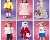 """McCall pattern M3900 -18"""" Doll dress pattern"""