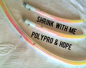 Shrink With Me for HDPE & Polypro - ADDON for DanceHoops Hula Hoops - Sectional  Hoop ADJUSTABLE Collapsible