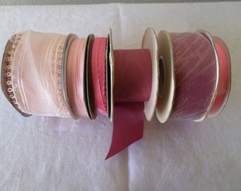 Large LOT of PINK Ribbons