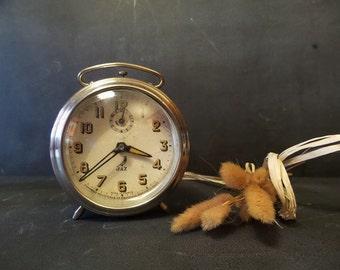 Retro Alarm clock .French Jaz Alarm clock .