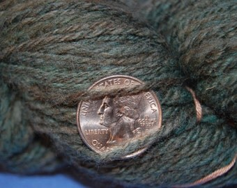 Greenish-Teal DK to Worsted Merino Yarn