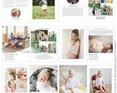Studio Photography Digital Magazine - INSTANT DOWNLOAD - New White