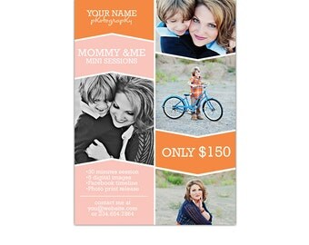 Mother's Day Mini Session template - PSD Newsletter  template - E764