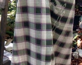 man's sarong green check MA14