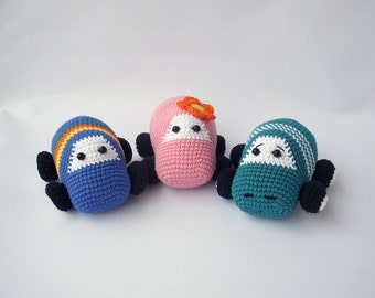 PDF Cars Crochet Pattern - Car Crochet Toy,  DIY tutorial