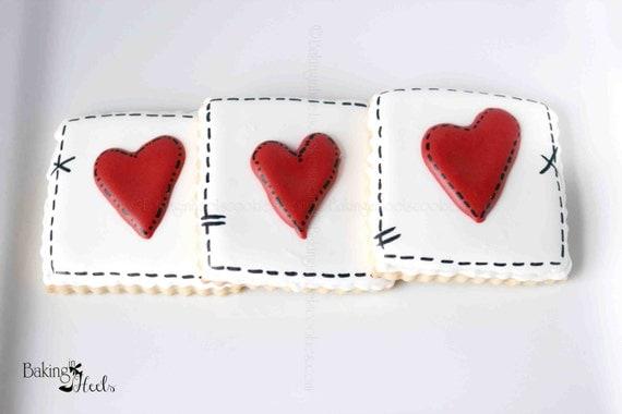 like this item - Decorated Valentine Cookies