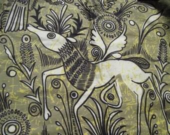 Vintage Ethnic Batik Signed Escalera