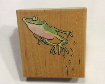 Frog Rubber Stamp from Penny Black
