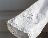 RESERVED Antique clothing cotton  lace Romantic Bohemian Victorian embroidered BABY/GIRL clothing  (141