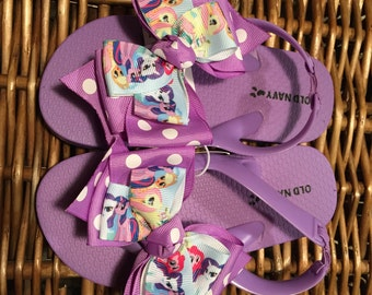 My Little Pony Toddler Flip Flop Sandals Sizes: 9 (3 left), 10 (4 left), 11 (2 left), 1/2 (1 left)
