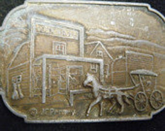 Vintage JC Pennys  Belt Buckle