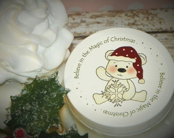 Whipped Body Butter - Believe in the Magic of Christmas (Unique Holiday Gift)