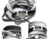 RUN INSPIRED - Running Silk Wrap Bracelet
