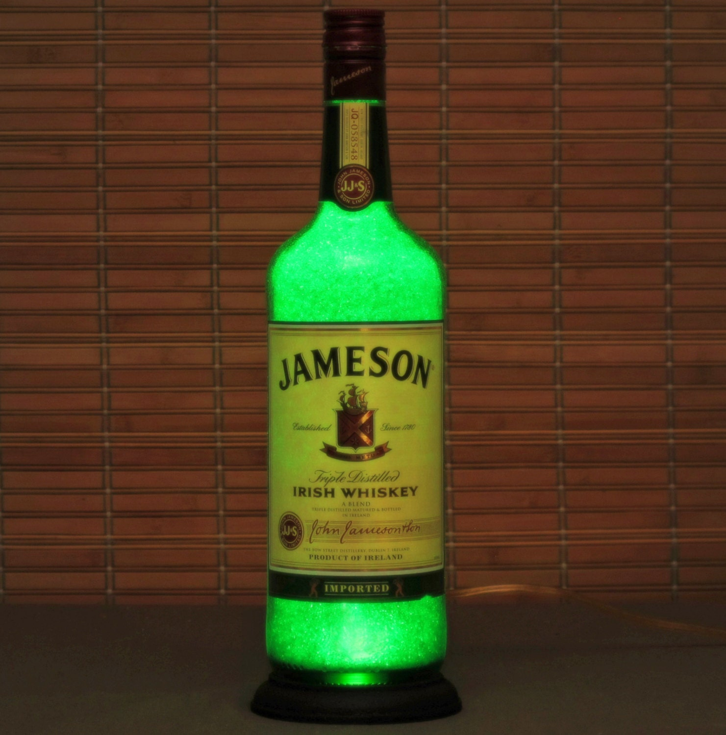 Request a custom order and have something made just for you Jameson Irish Whiskey Bottle