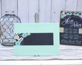 Mint Floral Personalized ...