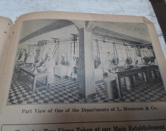 Apothecary, Advertisement, Quack Medicine, Vintage Ephemera, Antique Paper, Pharmacy, Advertising, Chemistry, Science, Medical Book, 1930s