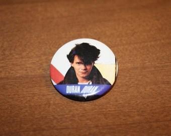 Vintage Pinback - Duran Duran's John Taylor