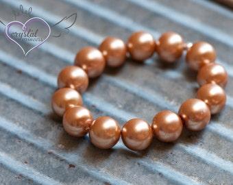 SALE  - Golden Pearl Bracelet