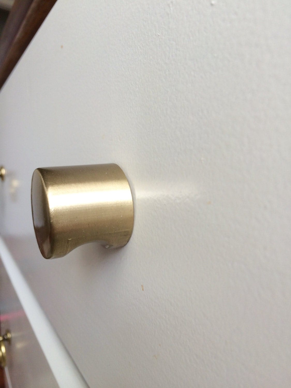 cabinet knob in brushed brass whistle cabinet knobs cabinet hardware drawer pull. Black Bedroom Furniture Sets. Home Design Ideas