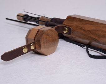 Fly Fishing Cases, Exotic Wood