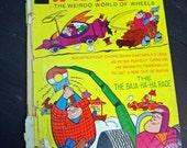 1971 Whitman Hanna-Barbera Wacky Races The Wierdo World of Wheels Comics Comic Book cartoons