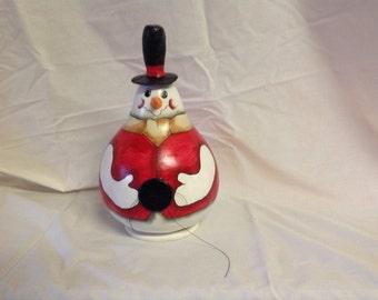 Sam the gourd snowman